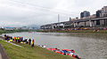 Rescue Team Searching Crashed B-22816 in Keelung River 20150204c2.jpg
