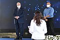 Reuven Rivlin presenting certificates of appreciation to the outstanding people of the Shin Bet, December 2020 (KBG GPO9002 1.jpg