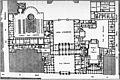 Rez-de-chaussée du Palais-Royal en 1780, plan reconstitué par Fontaine 1829 - Espezel 1936 p121 (cropped).jpg