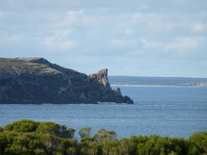 Innes National Park - Rhino Head at the eastern end of Stenhouse Bay