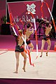 Rhythmic gymnastics at the 2012 Summer Olympics (7915314656).jpg
