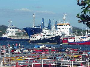 Ribeira, Galicia - Port of Ribeira