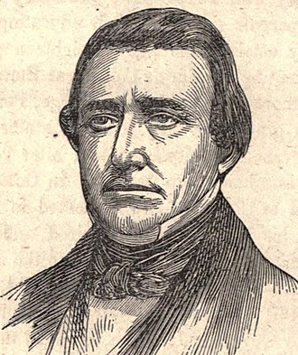 Richard Brodhead - From 1856's Portraits of United States Senators with a Biographical Sketch of Each