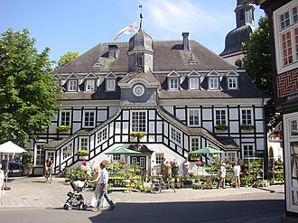 Rietberg - The historic Town hall from around 1800