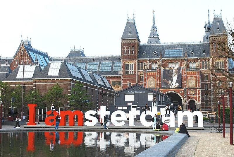 Le musée d'art flamand du Rijskmuseum à Amsterdam - Photo de Kevingessner