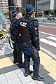 Riot police officers at the G8 Summit in 2008.jpg