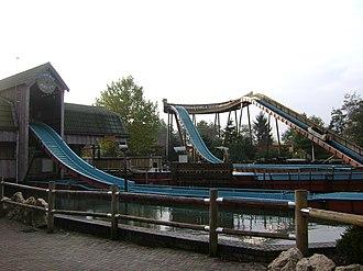 Attractiepark Slagharen - Ripsaw Falls.