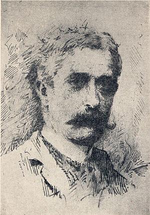 Giovanni Verga - Portrait of Verga, by Antonino Gandolfo.