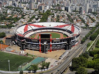 Estadio Monumental Antonio Vespucio Liberti - Image: River Plate Stadium