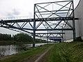 River Schelde and logistic center Parc d'Activités Europescaut. Anzin, Valenciennes, France. - panoramio (1).jpg