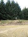 Road sign, Lornaswood - geograph.org.uk - 548993.jpg
