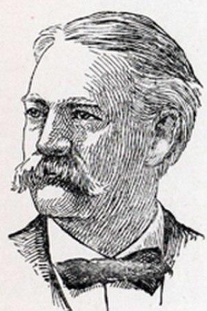 Robert W. Miers - Engraving of Robert W. Miers