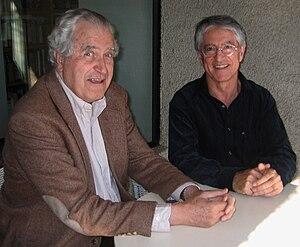 Jesús Mosterín - Roberto Torretti and Jesús Mosterín in Santiago (Chile) in 2004
