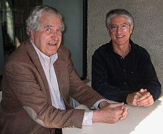 Roberto Torretti - Roberto Torretti and Jesús Mosterín in Santiago (Chile) in 2004