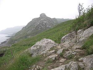 Gréville-Hague - The rock of Castel Vendon