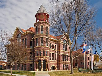 Rock County, Minnesota - Image: Rock County Courthouse & Jail