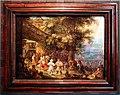 Roelant savery, contadini che danzano fuori da una taverna, 1610 ca. 01.jpg