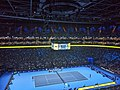 Roger Federer v Novak Djokovic at 2019 ATP Finals (49070130273).jpg