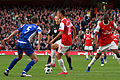 Roger Johnson, Marouane Chamakh and Abou Diaby (5092233707).jpg