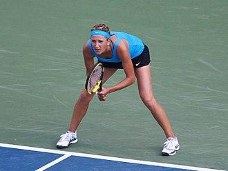 2012 WTA Tour - Image: Rogers Cup 2011 SF2 Victoria Azarenka 2 (cropped)