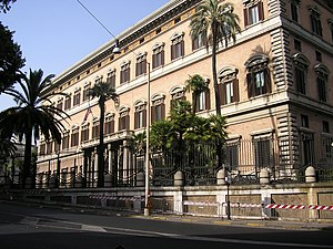 Palazzo Margherita - Image: Roma ambaixada EUA