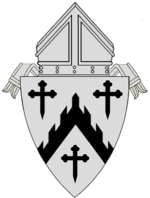 Coat of arms of the Diocese of Davenport