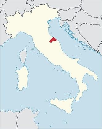 Roman Catholic Diocese of Senigallia - Image: Roman Catholic Diocese of Senigallia in Italy