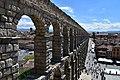 Roman aqueduct, Segovia, 1st century CE (13) (29438189946).jpg