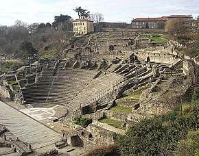 Roman theatre in Lyon.jpg