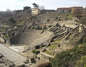 Roman theatre in Lyon