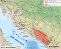 Roman war in Illyricum 33 BC.png