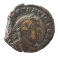 Romerskt bronsmynt med Konstantin, 315-316 - Skoklosters slott - 100190.tif
