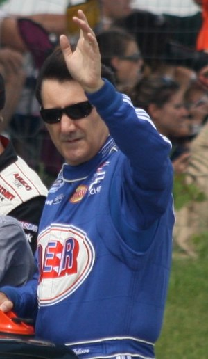 Road course ringer - Ron Fellows is one of the few ringers to win races in two of NASCAR's top three divisions.