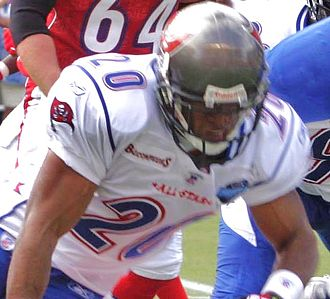 Ronde Barber - Barber (shown here in the 2006 Pro Bowl) is a five-time Pro Bowl pick.