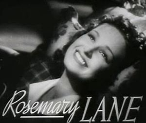 Four Daughters - Image: Rosemary Lane in Four Daughters trailer