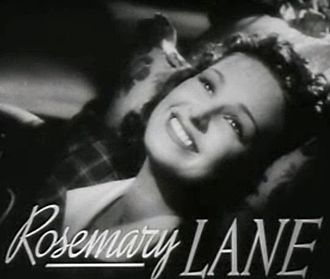 Lane Sisters - Image: Rosemary Lane in Four Daughters trailer