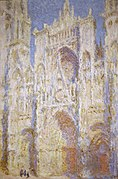 Rouen Cathedral, West Façade, Sunlight by Claude Monet (4990896545).jpg