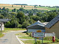 Rouvroy-sur-Audry (Ardennes) city limit sign.JPG