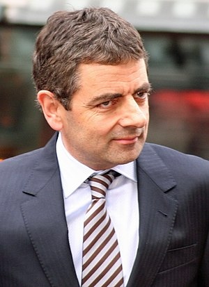 Goodbyeee - Rowan Atkinson played Captain Blackadder in the series.