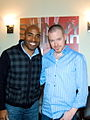 Roy Harter and Tiki Barber.jpg