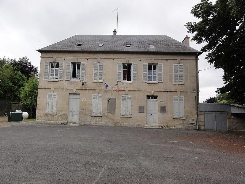 Rozières-sur-Crise (Aisne) mairie