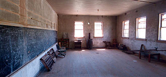 Ruby, Arizona - Schoolhouse in 2009
