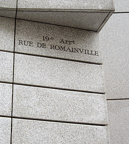 Image illustrative de l'article Rue de Romainville