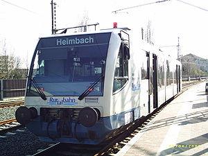 RegioSprinter - A Rurtalbahn railbus ready to depart at Düren Hbf