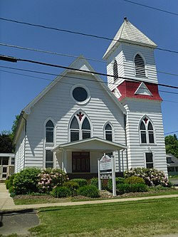 The Russell United Methodist Church