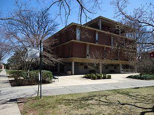 Rutgers Graduate School of Education - The building housing the Graduate School of Education