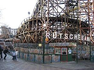 Dyrehavsbakken - Rutschebanen roller coaster
