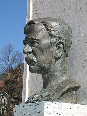 Robert William Seton-Watson - Bust of Robert William Seton-Watson by Vojtech Ihriský.