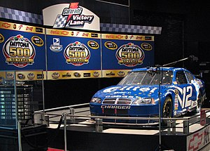 2008 Daytona 500 - Image: Ryan Newman 12