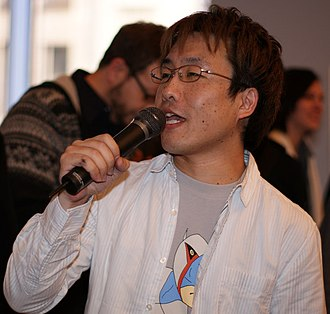 Tatsunoko vs. Capcom: Ultimate All-Stars - Image: Ryota Niitsuma at Tv C launch event